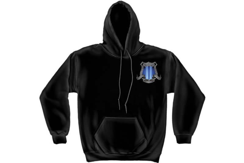 After Math 911 Police Hooded Sweatshirt