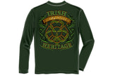 Irish Firefighter Heritage Long Sleeve T-Shirt