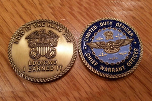 LDO/CWO Air Warfare Coin