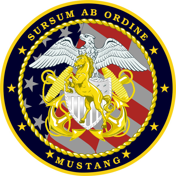Ldo Cwo Mustang Sweatshirt Limited Duty Officer Chief
