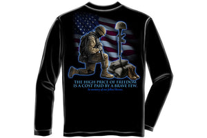 Soldiers Cross Long Sleeve T-Shirt