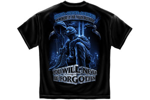 Soldier You Will Never Be Forgotten Short Sleeve T Shirt