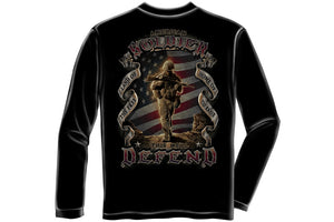 American Soldier Long Sleeve T-Shirt