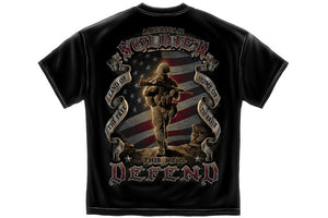 American Soldier Short Sleeve T Shirt