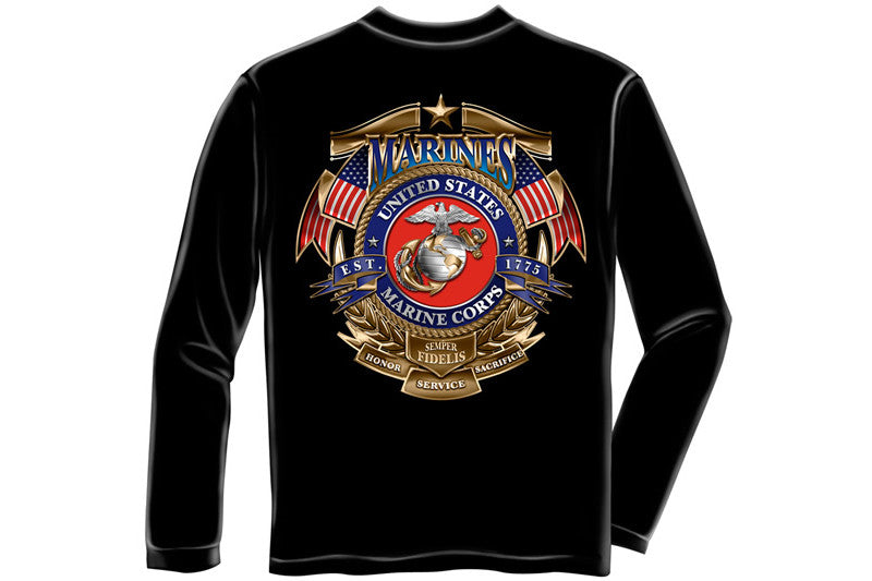 Badge of Honor Long Sleeve T-Shirt