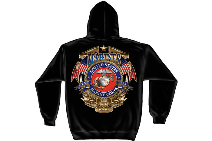 Badge of Honor Hooded Sweatshirt