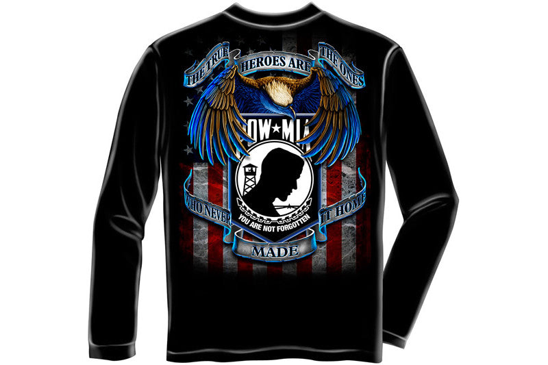 TRUE HEROS POW MIA Long Sleeve T-Shirt
