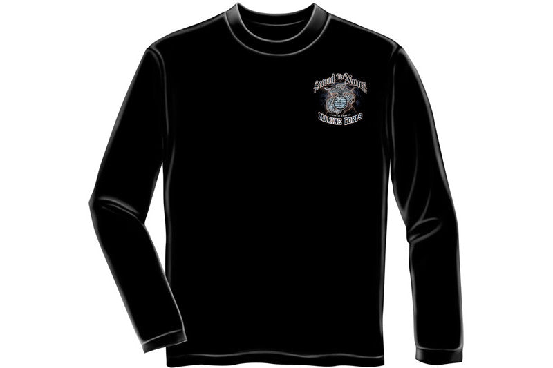 USMC Second to None Long Sleeve T-Shirt