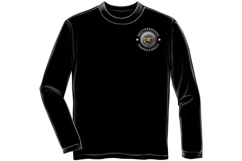 USMC BROTHERHOOD Long Sleeve T-Shirt
