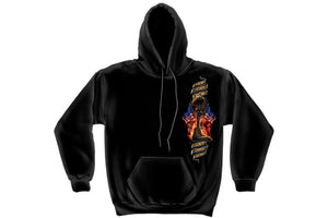 Home Of The Free Because Of The Brave Hooded Sweatshirt