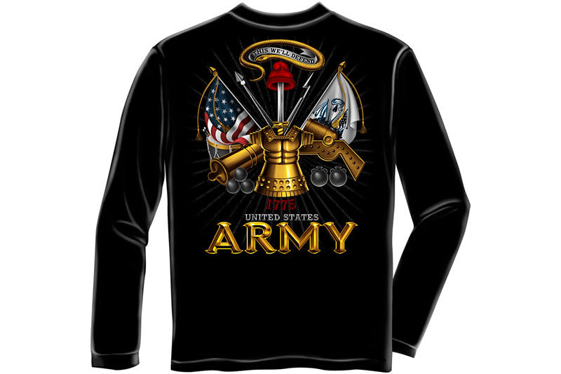Army Antique armor Long Sleeve T-Shirt