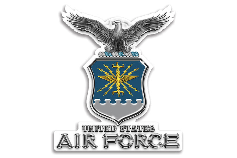 U.S Air Force Reflective Decal USAF Missile