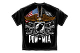 Double Flag eagle POW Short Sleeve T Shirt