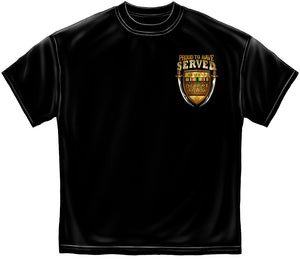Gulf War Veteran - US ARMY Proud To Have Served T-Shirt