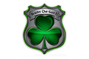 Policeman's Irish Brotherhood Reflective Decal