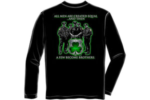 Policeman's Brotherhood Irish Long Sleeve T-Shirt