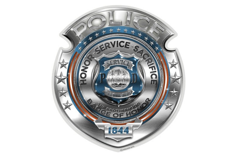 Honor Service Sacrifice Badge of Honor Reflective Decal