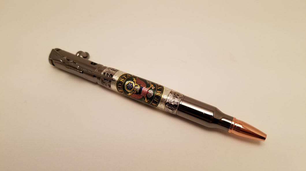 US Army .30 Caliber Bolt Action Pen