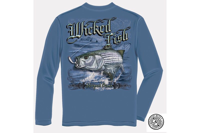 STRIPED BASS Long Sleeve T-Shirt
