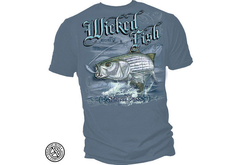 STRIPED BASS Short Sleeve T Shirt