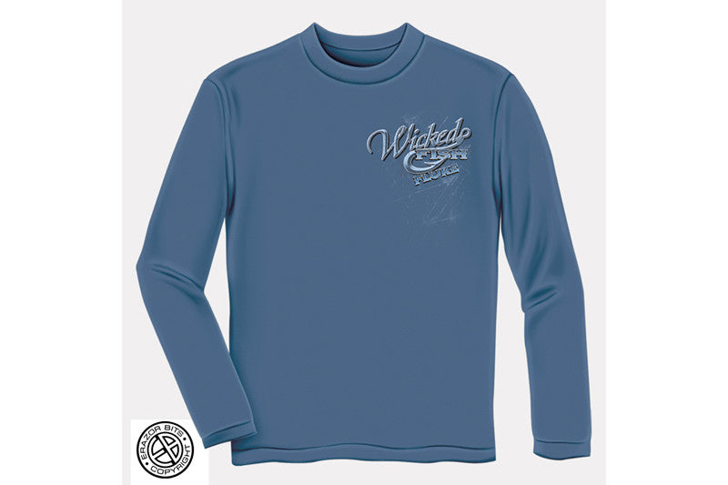 FIGHTIN FLUKE Long Sleeve T-Shirt
