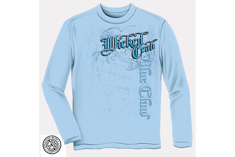WICKED CRAB Long Sleeve T-Shirt