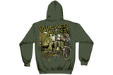 WICKED HUNT BOW HUNTING Hooded Sweatshirt