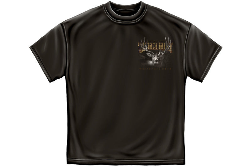 MEGA BUCKS DEER HUNTER Short Sleeve T Shirt