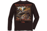 DUCK HUNTING IN A FOWL MOOD Long Sleeve T-Shirt