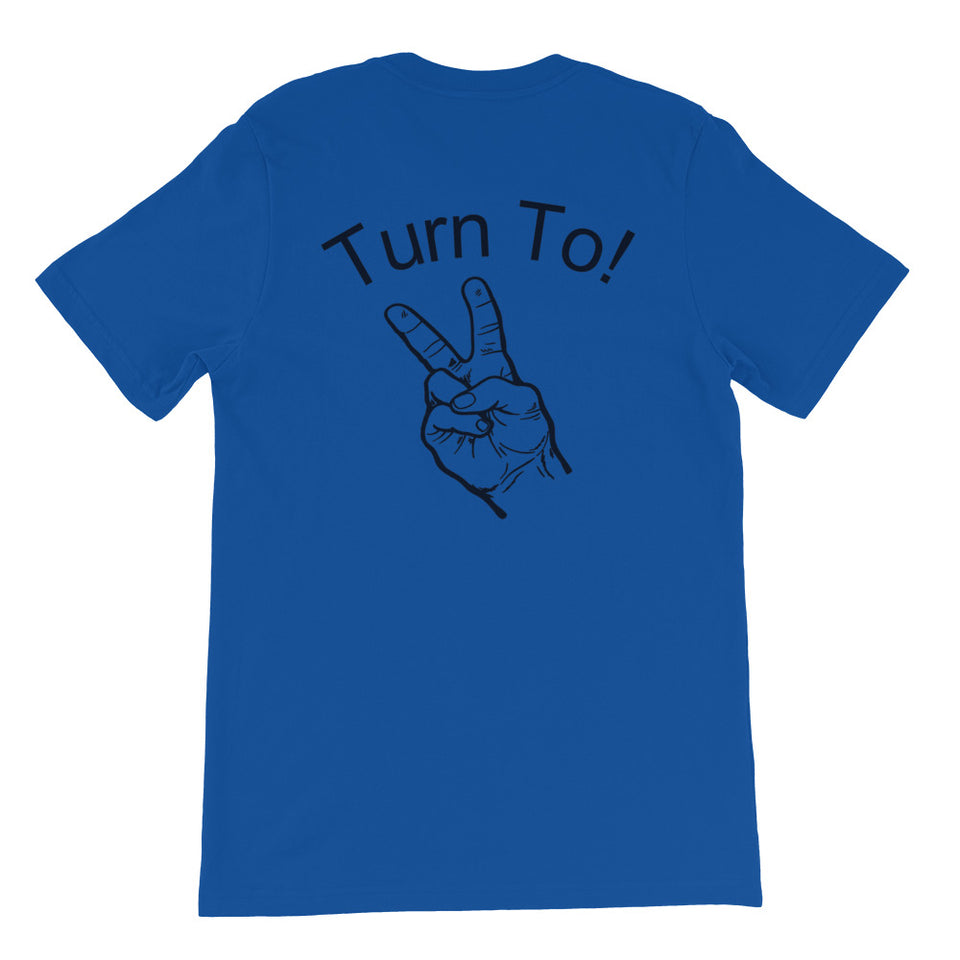 "Navy Boatswain's Mate ""Turn To!"" Short-Sleeve Unisex T-Shirt"