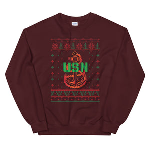 U.S. Navy Chief Christmas Sweatshirt