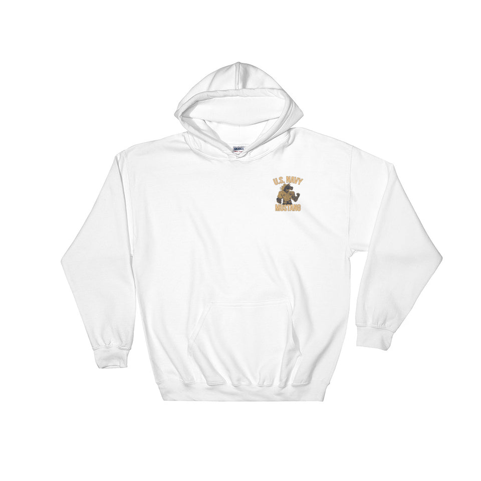 US Navy Mustang Hooded Sweatshirt