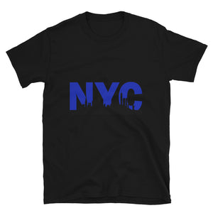 New York City Skyline - Short-Sleeve Unisex T-Shirt