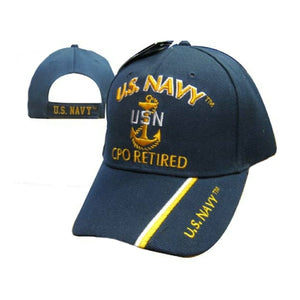 United States Navy Chief Petty Officer Retired Cap