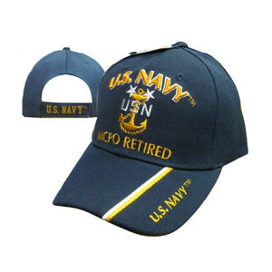 United States Navy Master Chief Petty Officer Retired Cap