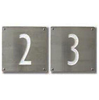 Address Numeral Plates