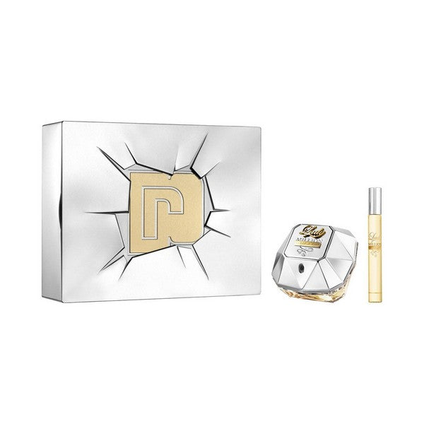Set de Perfume Mujer Lady Million Lucky Paco Rabanne (2 pcs)