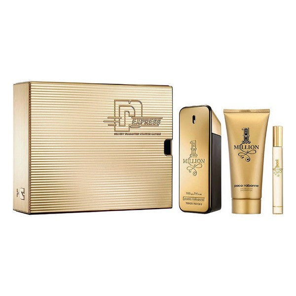 Set de Perfume Hombre 1 Million Paco Rabanne (3 pcs)