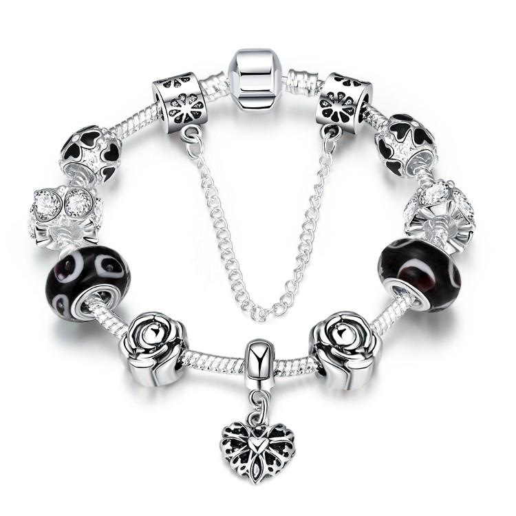 The Northern Lights Pandora Inspired Bracelet - Classy Swan