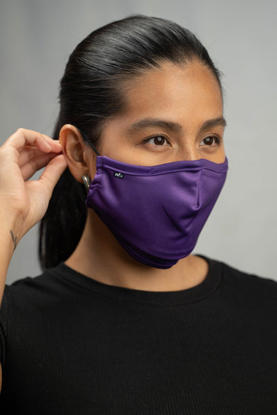 Niice Face Mask - Adult Purple with Filter