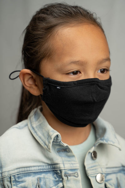 KIDS- Niice Face Mask Black with Filter