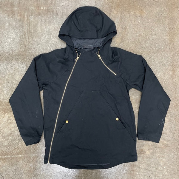 Black Scale Asymetrical Anorak Jacket (J1)