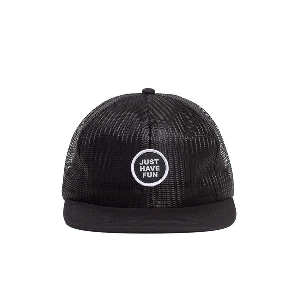 JUST BREATHE TRUCKER - BLACK