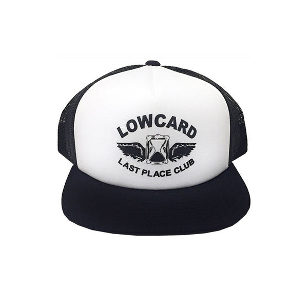 LAST PLACE CLUB MESH TRUCKER - WHITE/BLACK