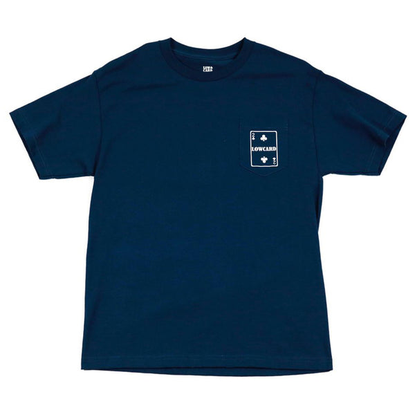 SMALL CARD POCKET TEE - NAVY