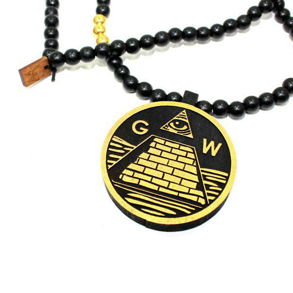 PYRAMID EYE BLK GOLD