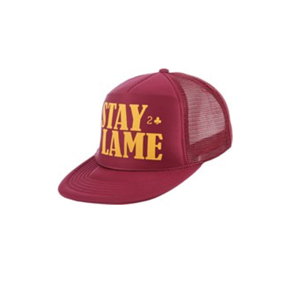 STAY LAME MESH TRUCKER - MAROON