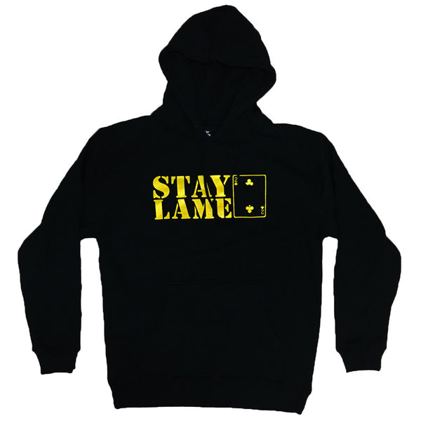 STAY LAME PULLOVER BLACK