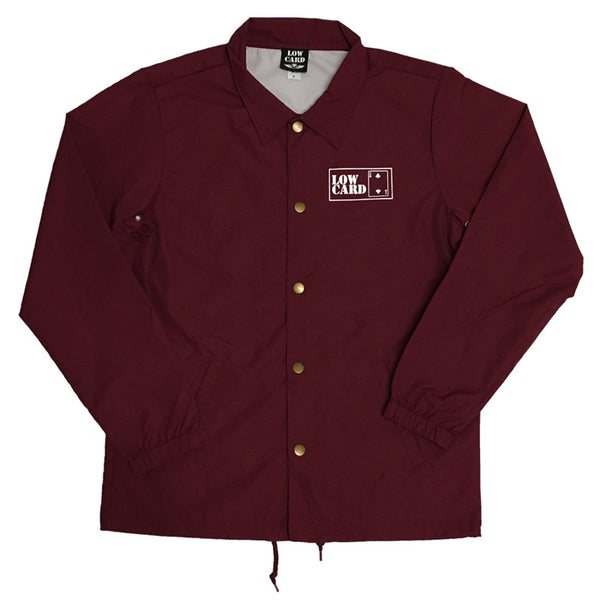 THE CLUB COACH JACKET CARDINAL