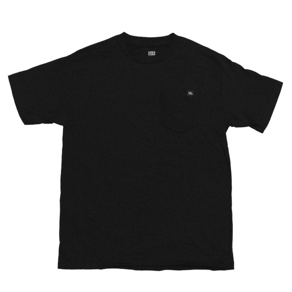 TIPS POCKET TEE BLACK